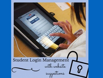 iPad - Power Login Organizer for Student Planners