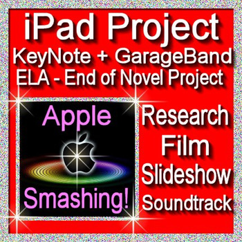 iPad Project Using KeyNote and GarageBand Apple Smashing!