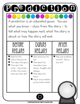 iPad Reading Activity for Making Predictions