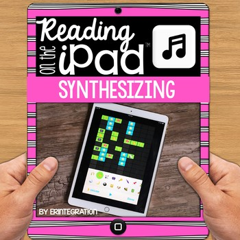 iPad Reading Activity for Synthesizing with Emojis