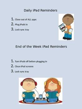 iPad Reminders