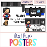 iPad Rule Posters - Educlips Edition