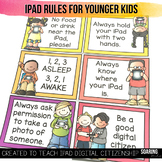 iPad Rule Posters for Younger Kids | To Teach Digital Citizenship