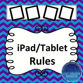 iPad and Tablet Rules