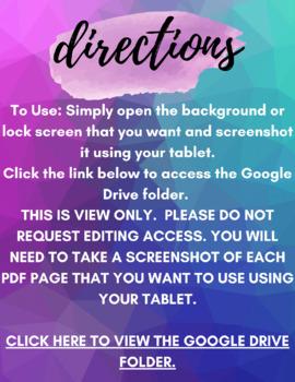 iPad Rules Lock Screen