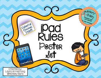 iPad Rules Poster Set