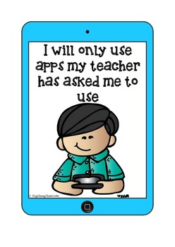 iPad Rules - Use with Student Owned iPads