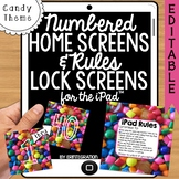 iPad Wallpaper Rules & Numbers: Candy Theme