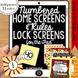 iPad Wallpaper Rules & Numbered Backgrounds: Hollywood Mov