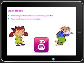 iPad Rules for Elementary PowerPoint Presentation