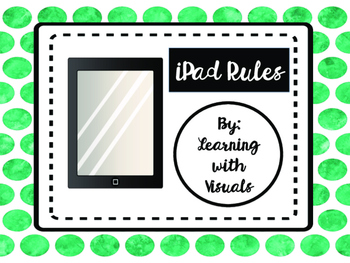iPad Rules for Special Education Classroom