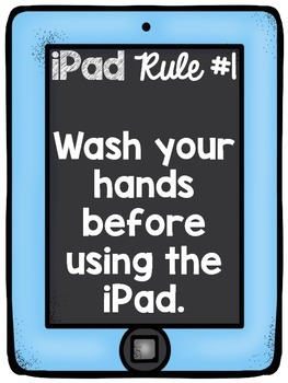 iPad Rules for the Classroom