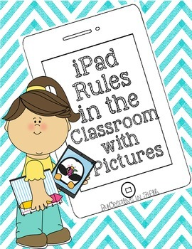 iPad Rules for the Classroom with Pictures