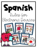iPad Rules Posters in Spanish