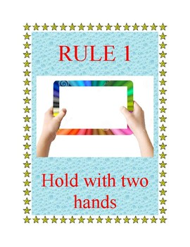 iPad Rules poster