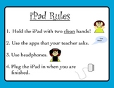 iPad Rules with Visuals
