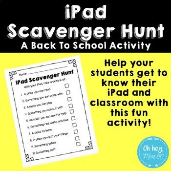 iPad Scavenger Hunt