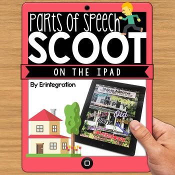 IPAD DIGITAL SCOOT - Parts of Speech Grammar Review