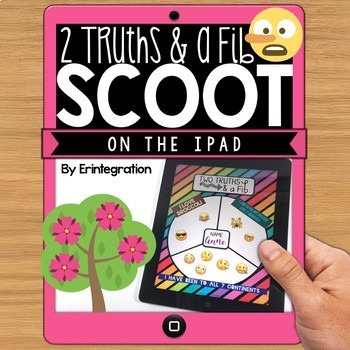 IPAD DIGITAL SCOOT - Two Truths and a Fib Icebreaker