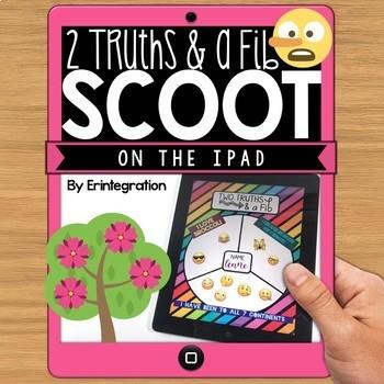 IPAD DIGITAL SCOOT - Two Truths and a Fib Icebreaker
