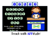 iPad SeeSaw Student of The Day NO PREP Packet