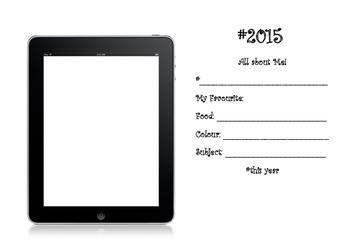 #iPad 'Selfie' 2015