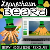 Digital St. Patrick's Day Leprechaun Word Study for Seesaw