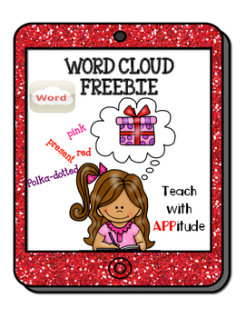 iPad Synonym Activity for Word Cloud App No Prep FREEBIE