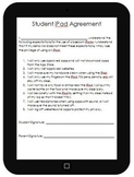iPad / Tablet Agreement, Rules, and Tracker Bundle