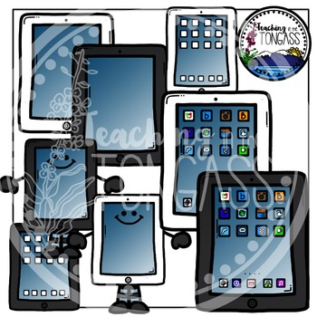 iPad Clipart Bundle