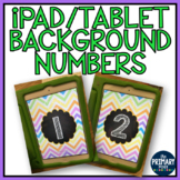 iPad/Tablet Background Numbers