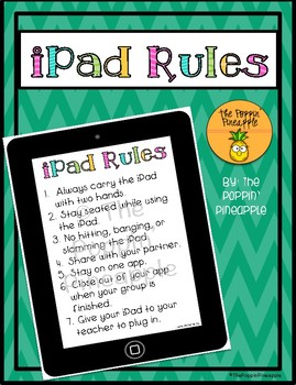 iPad / Tablet Rules