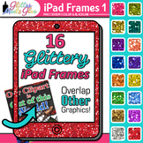 iPad Frame Clip Art: Classroom Technology Graphics 1 {Glitter Meets Glue}