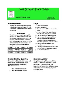 iPad Task Card_ Common Core and STAAR Aligned