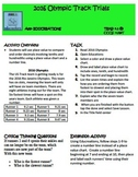 iPad Task Card_ Common Core and STAAR Aligned_State Track Meet