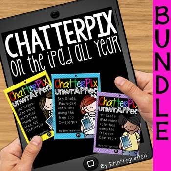 iPad Video Activities for Reading & Math: Chatterpix BUNDLE