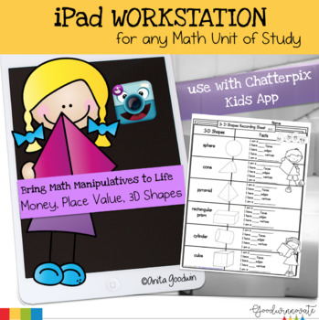 iPad Technology Workstation Bring Math Manipulatives to life
