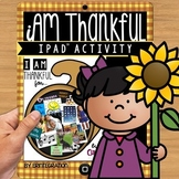 iPad Thanksgiving Activity using the App PicCollage