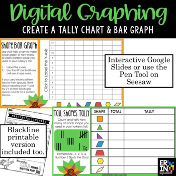 Turkey Math -Thanksgiving Geometry Task Cards for the iPad