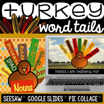 iPad Thanksgiving Word Study Task Cards