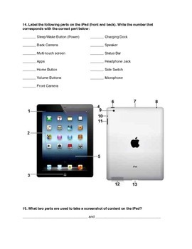 iPad Use Pre-Assessment