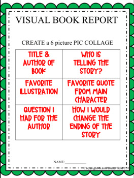 iPad VISUAL BOOK REPORTS using Pic Collage App