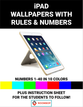 iPad - Wallpapers with Rules & Numbers
