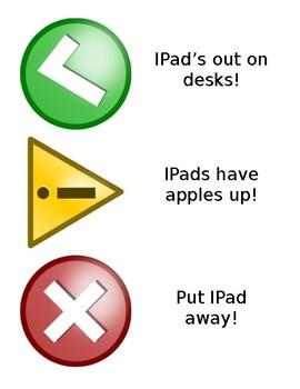 iPad Warning Poster