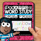iPad Spelling Activities and Word Work Center using the Dr