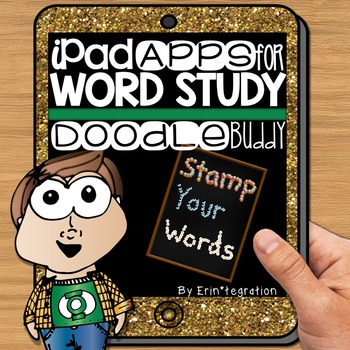 iPad Spelling Activities and Word Work Center using Doodle Buddy