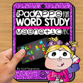 iPad Spelling Activities and Word Work Center using Magnetic ABC