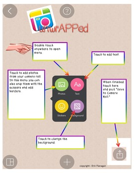 iPad Spelling Activities and Word Work Center using Pic Collage