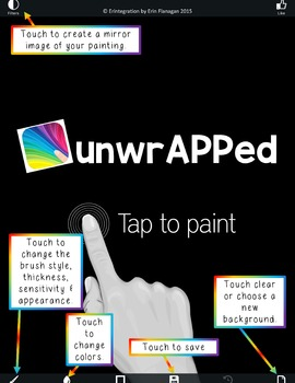 iPad Spelling Activities and Word Work Center using Finger Paint Magic