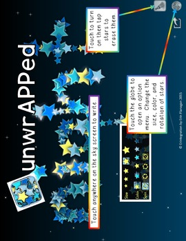 iPad Spelling Activities and Word Work Center using Draw Stars